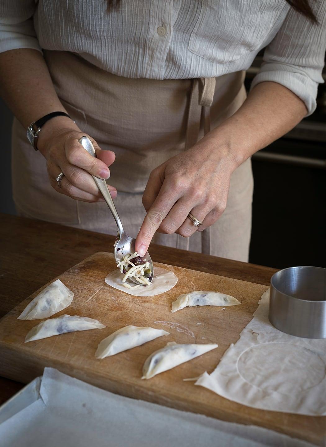 ricetta tortelli con pasta fillo