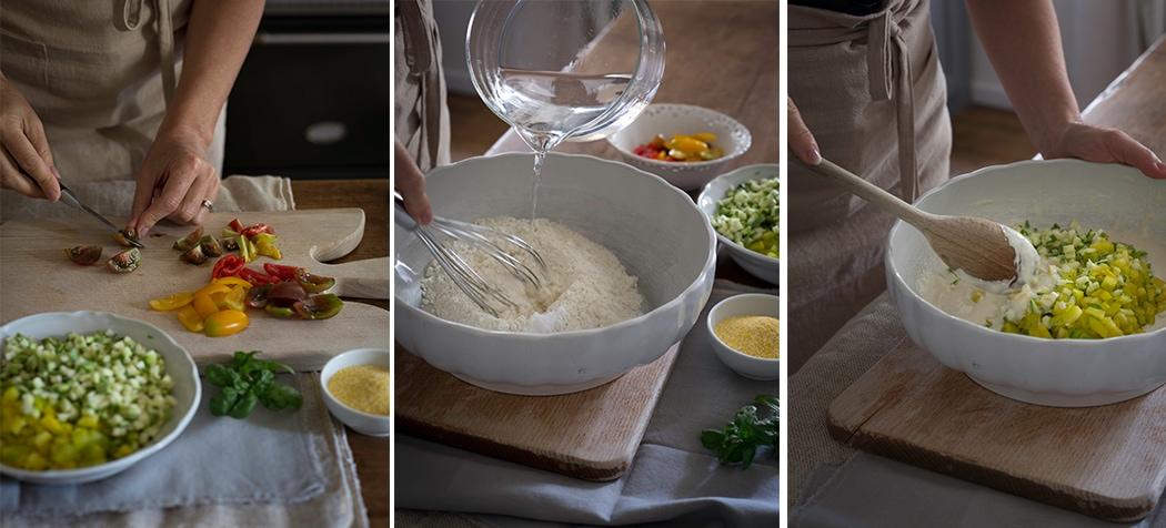 ricetta croccantella con verdure di stagione