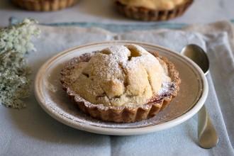ricette crostata di mele e confettura di susine