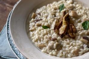 ricette risotto ai funghi porcini freschi